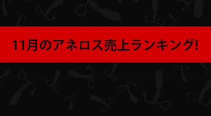 11月のアネロス売上ランキング!!