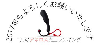 1月のアネロス売上ランキング!!