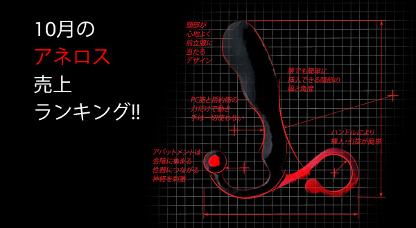 2018年10月のアネロス売上ランキング!!
