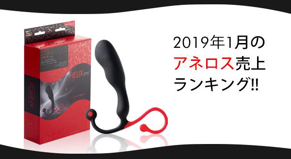 2019年1月のアネロス売上ランキング!!