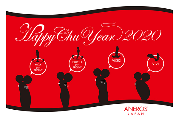 アネロスジャパン2020年賀状