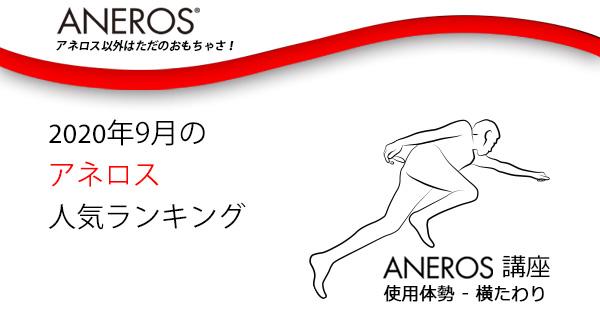 2020年9月アネロス人気ランキング!