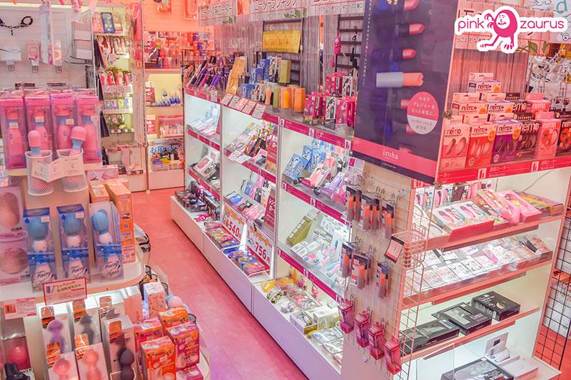 ピンクザウルス1号店店内